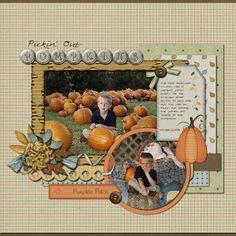 Pickin'+Out+Pumpkins - Scrapbook.com