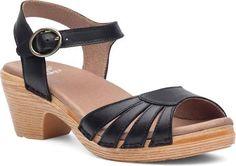 Dansko Marlow Women's Black Sandal Euro 42 US 11.5 - 12 B