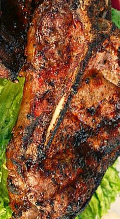 Tuscan Porterhouse Steak - prepared with fresh herbs and simple seasonings allows the natural flavors of the meats to shine through.