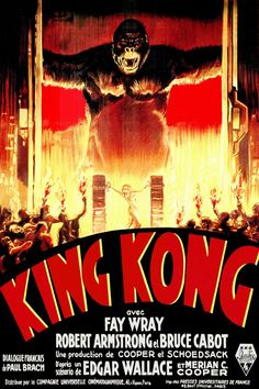Movie Poster Shop Presents 100 Best Selling Movie Posters - King Kong (1933)