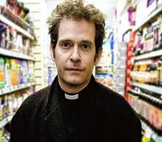 Let us pray: Tom Hollander in Rev Let Us Pray, Oscar Isaac, Two And A Half, Character Reference, Toms, Wine, My Love, Random, People