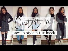 How to style the #turtleneck #winterfashion