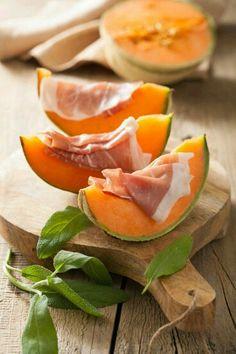 The most famous ANTIPASTO...prosciutto e melone !!!