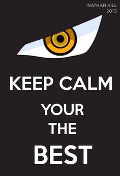 One Piece Keep Calm Dracule Mihawk