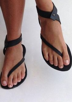 Product Name Black Sandals Flip Flops Ankle Wrap Shoes Brand Name terraqueen SKU ShopesType Flat Gender Women Age Adult Upper Material Artificial PU Season Season Outsole Material Rubber Wrap Shoes, Women's Shoes, Cute Shoes, Me Too Shoes, Shoe Boots, Ankle Strap Flats, Flip Flop Sandals, Flip Flops, Online Shopping