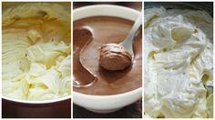 Recepty - Strana 3 z 100 - Vychytávkov Cake Fillings, Creative Cakes, Baked Goods, Nutella, Icing, Peanut Butter, Dessert Recipes, Ice Cream, Pudding