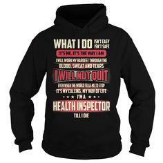 Health Inspector Job Title T-Shirts, Hoodies. SHOPPING NOW ==► https://www.sunfrog.com/Jobs/Health-Inspector-Job-Title-T-Shirt-Black-Hoodie.html?id=41382