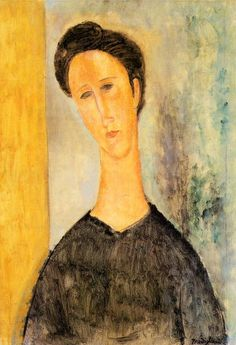 Portrait of a Woman, Oil on canvas , Private Collection