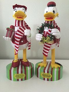 Donald Duck and Daisy 14 Wooden Nutcracker Set Bundle *** This is an Amazon Affiliate link. Check out the image by visiting the link.