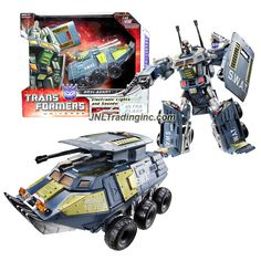 "Hasbro Transformers Universe Series Ultra Class 9"" Tall Electronic Figure - Decepticon ONSLAUGHT with Lights & Sounds (Vehicle Mode: Assault Vehicle)"