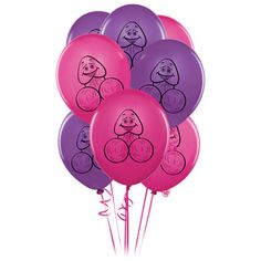 """Inflatable Giant Foil Balloon Willy 30/"""" Dick Hen Night Party Bride To Be Girls"""