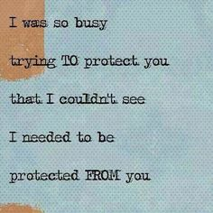 Powerful ..NO TRUER WORDS COULD BE SAID ABOUT ME AND YOU..