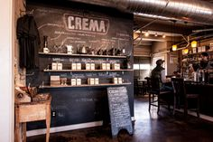 Crema - one of the best coffee shops in Nashville. Try the vanilla almond granola with yogurt and bananas with your espresso! - cappuccino or coffee soda Nashville Coffee Shops, Nashville Shopping, Nashville Food, Visit Nashville, Nashville Tennessee, Tennessee Usa, Small Coffee Shop, Best Coffee Shop, Great Coffee