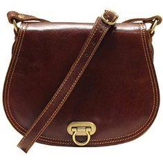 Floto Women's Saddle Bag in Brown Italian Calfskin #Leather - #handbag #shoulderbag http://amzn.to/1KbYeol  #popular https://twitter.com/TheMarketer2015/status/613621686752165889/photo/1