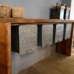 Vintage Industrial Sideboard | Wood Factory - Vintage Industrial Shabby Chic