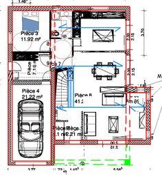 plan de maison 700m2