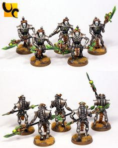 Games Workshop Paints, Necron, Gw, Warhammer 40k, Candle Holders, Miniatures, Candles, Painting, Home Decor
