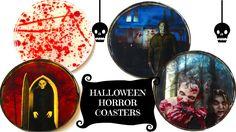 DIY Horror Coasters   The Walking Dead, Michael Myers Halloween, Nosfera...