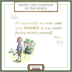 "Quote from ""Danny, the Champion of the World"""