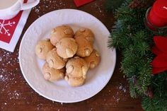 Authentic German Bethmännchen (Marzipan Cookies)