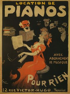 Outstanding modern french decorating ideas are offered on our web pages. Check it out and you will not be sorry you did. Vintage Dance, Vintage Ads, French Vintage, Vintage Posters, French Posters, French Decor, French Country Decorating, Dance Music, Art Music