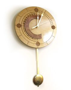"""- Chrono Trigger Clock - Swinging pendulum - Travels forward in time Inspired by one of the greatest RPGs of all time. """"Good morning, Crono """" These clocks are made-to-order and can take up to two week"""