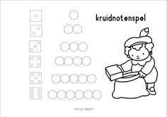 Kruidnotenspel 1/2 http://www.juf-joyce.nl/thema3.php3?thema=Sinterklaas