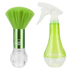 The Wet Brush Style Mates Neck Duster and Water Spray in Green | RRP $24.95