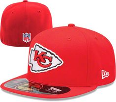 eaa010870 Kansas City Chiefs Red New Era Sideline Fitted Hat Kansas City Royals