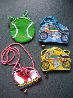 70s keychains - mini coin purse | por My Sweet 80s