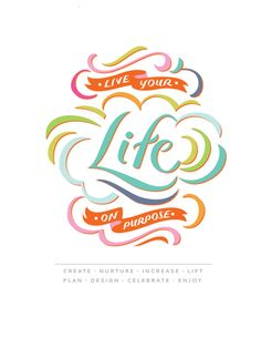 Crystal Wilkerson Life Planner by Jill De Haan { calligraphy   hand-lettering; talent }