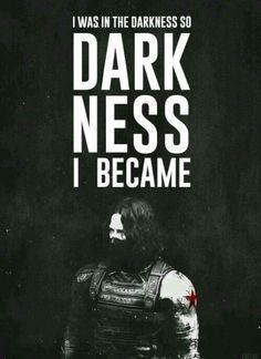 The Winter Soldier + darkness