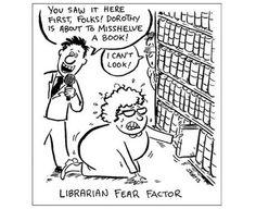 Librarian Fear Factor