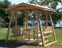 Custom Chainsaw Wood Carving, Custom Log Swings, Log Furniture | MN BEARS