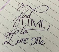 #love#ddcalligraphy