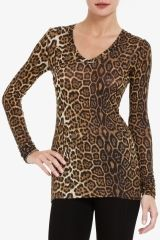 I am loving animal print this fall and red!