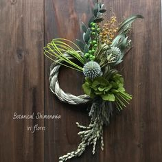Fall Wreaths, Christmas Wreaths, Christmas Decorations, Floral Centerpieces, Floral Arrangements, Japanese Ornaments, Forma Circular, Japanese Flowers, New Years Decorations