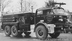 Vintage Crash Fire Truck