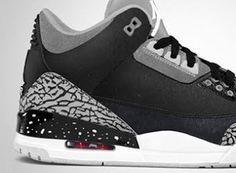 "THE SNEAKER ADDICT: 2013 Air Jordan III ""Fear Pack"" 3 Sneaker (First Look)"