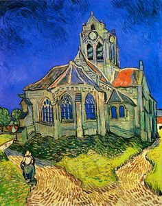 Auvers Church, Van Gogh