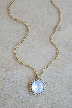 Anastasia Necklace- Crystal