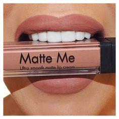 """Sleek Makeup """"MATTE ME"""" matte lip cream in Birthday Suit.."""
