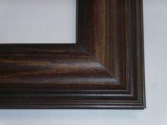 """US ART Frames .75/"""" Black Solid Poplar Wood Picture Poster Frames 13/"""" Sizes"""