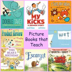 Crafty Moms Share: Picture Books that Teach Tractor Birthday, Double Take, School Organization, Picture Books, Learn To Read, Family Activities, Pre School, Reading Lists, Losing Me