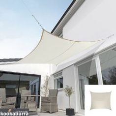 A simple but thorough guide to installing your shade sail. Shade Sail Installation, Sun Sail Shade, Shade Sails, Backyard Movie Nights, Backyard Shade, Woven Shades, Outside Patio, Deck Lighting, Outdoor Projects