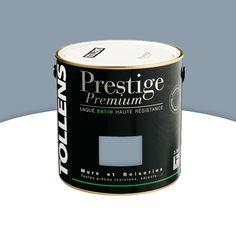 Peinture Alkyde Murs Boiseries Bleu Industriel Satin 500 Ml   CASTORAMA
