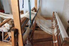 Loimen kiertäminen tukille 1/6 Wishbone Chair, Weaving, Furniture, Macrame, Home Decor, Decoration Home, Room Decor, Home Furnishings, Loom Weaving
