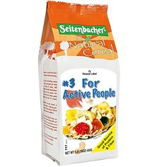 Seitenbacher Muesli #3 For Active People, Eighteen Tasty Ingredients, 16-Ounce Bags (Pack of 6)
