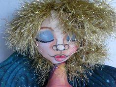 Fantasy Angel Hanging Art Doll   Star Fairy by JDCreativeHands