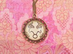 Taurus Zodiac Necklace by EternalGirl on Etsy, $10.00